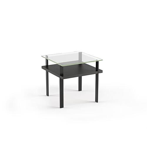 End Table 1156 in Charcoal Stained Ash