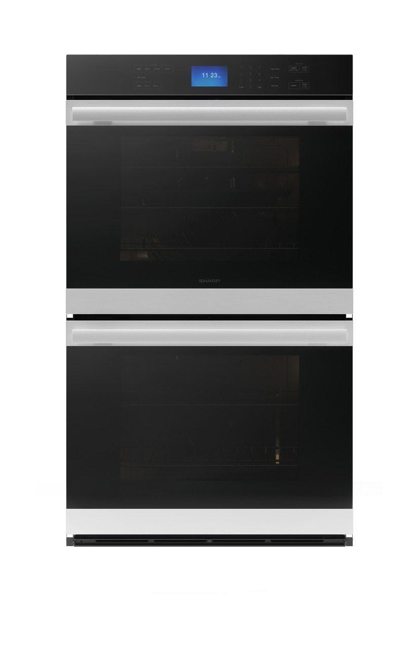 SharpStainless Steel European Convection Built-In Double Wall Oven