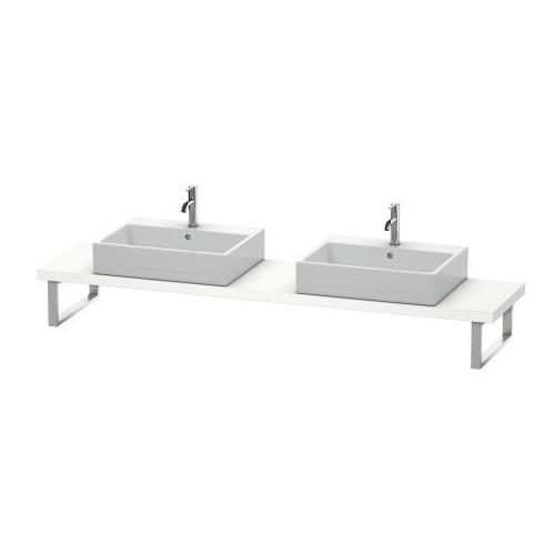 Product Image - Console For Above-counter Basin And Vanity Basin Compact, White Matte