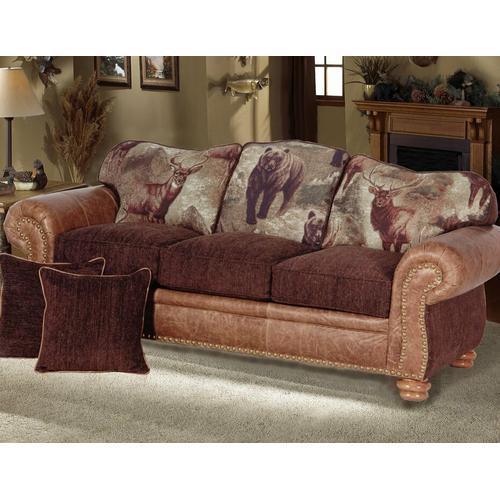 McKinley (Leather) Queen Sleeper