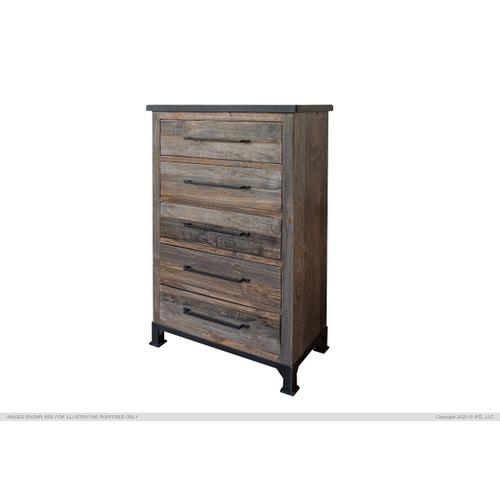 International Furniture Direct - 5 Drawers Chest