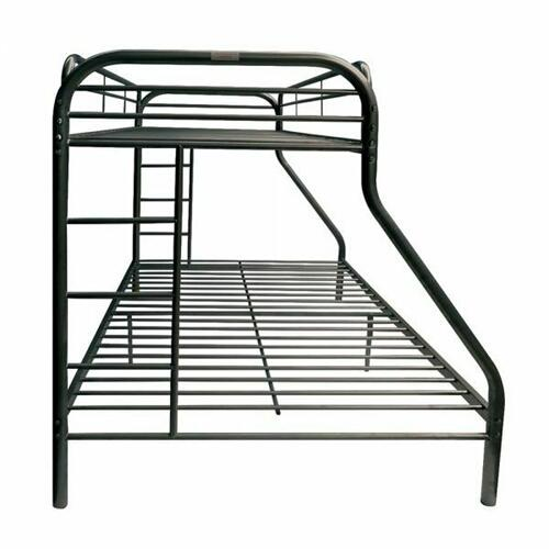 ACME Tritan Twin/Full Bunk Bed - 02053BK - Black