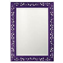 View Product - Bristol Mirror - Glossy Royal Purple