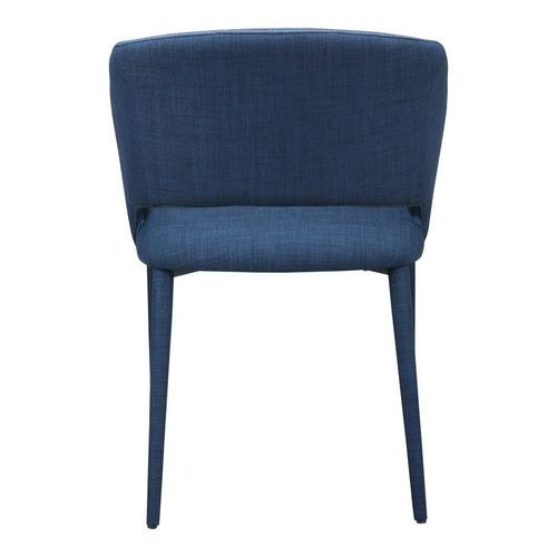 William Dining Chair Navy Blue