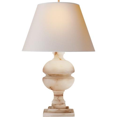 Visual Comfort - Alexa Hampton Desmond 26 inch 150.00 watt Alabaster Table Lamp Portable Light