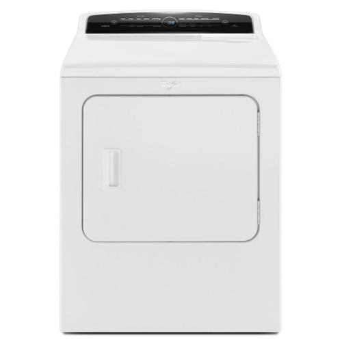 Whirlpool - 7.0 cu.ft Top Load HE Electric Dryer with AccuDry™, Intuitive Touch Controls