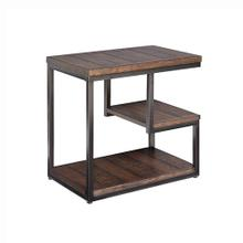 Chairside Table - Cola Finish