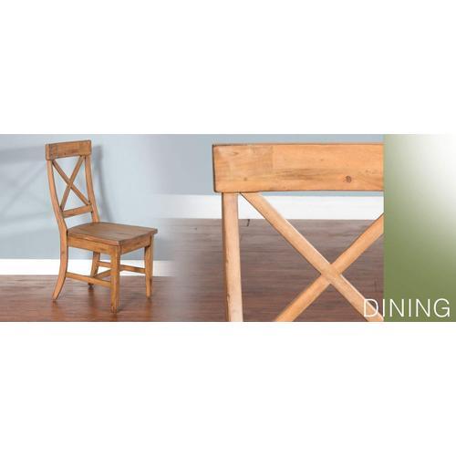 Sierra Ladderback Side Chair w/ Cushion Seat