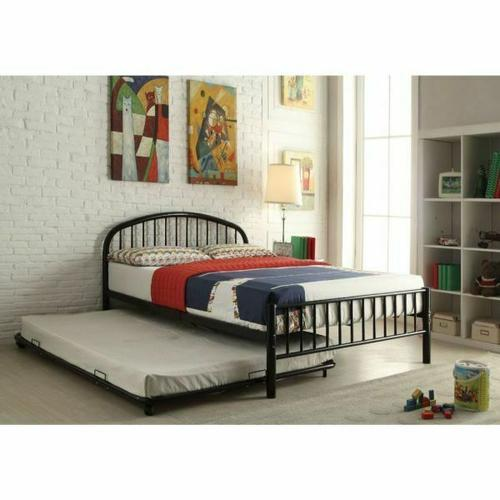 ACME Cailyn Trundle (Full) - 30468BK - Black