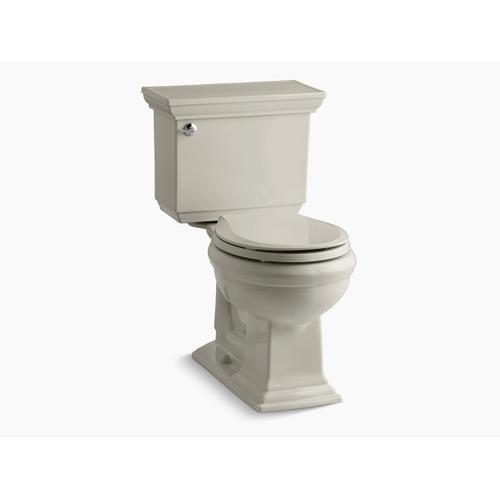 Sandbar Two-piece Round-front 1.28 Gpf Chair Height Toilet