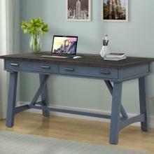 See Details - AMERICANA MODERN - DENIM 60 in. Writing Desk