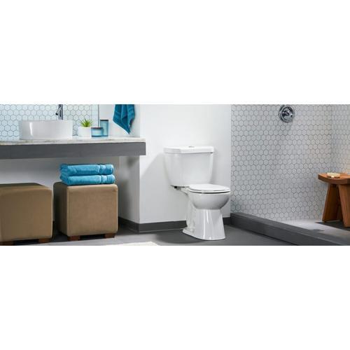 "Niagara - The Original - 0.5/0.95 GPF Dual Flush 10"" Round Toilet"