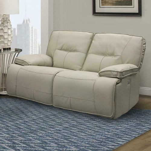 Parker House - SPARTACUS - OYSTER Power Loveseat