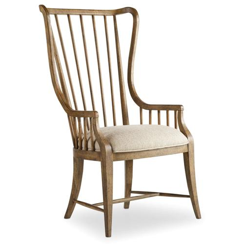 Dining Room Sanctuary Tall Spindle Arm Chair - 2 per carton/price ea