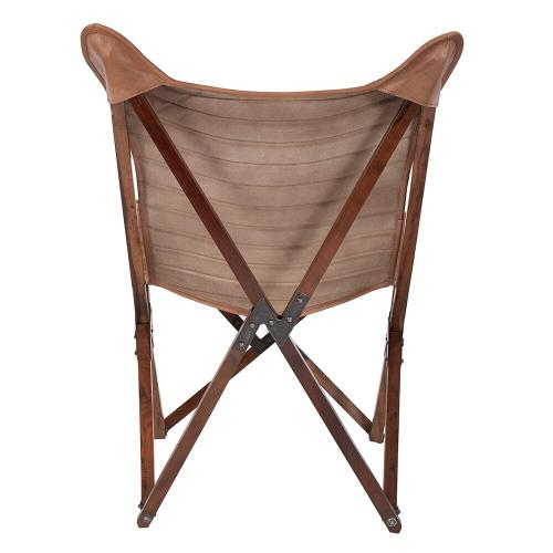 Howard Elliott - Leather Sling Chair