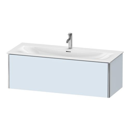 Duravit - Vanity Unit Wall-mounted, Light Blue Satin Matte (lacquer)
