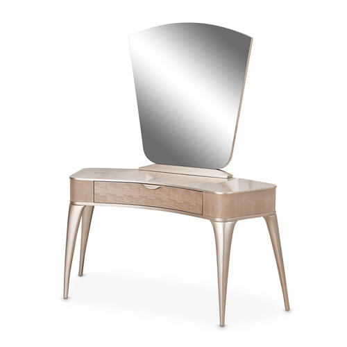 Vanity/writing Desk W/mirror (2pc)