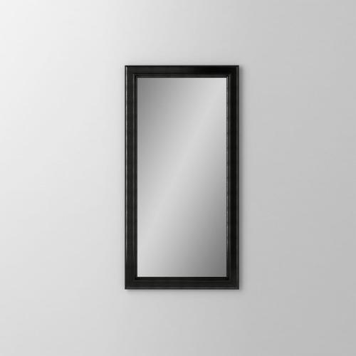 """Main Line 23-1/8"""" X 39-7/8"""" X 1-5/8"""" Bryn Mawr Framed Mirror In Brushed Black"""