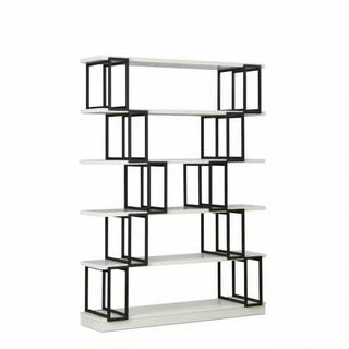 ACME Verne Bookshelf - 92408 - White & Black