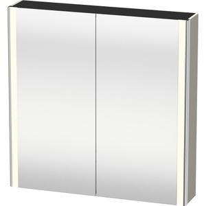 Mirror Cabinet, Taupe Satin Matte (lacquer)
