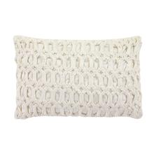 "VISCS VELVET PILLOW 21""W, 13""H"