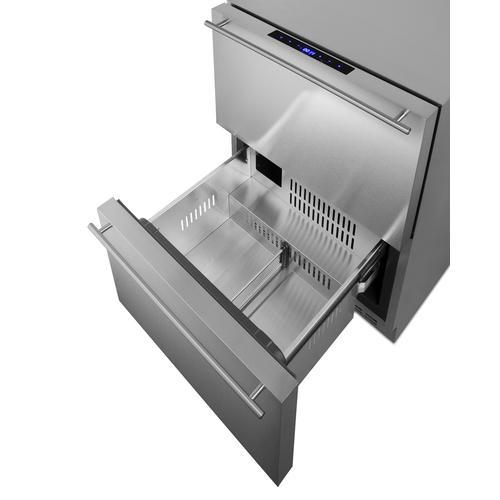 """24"""" Wide 2-drawer Refrigerator-freezer"""