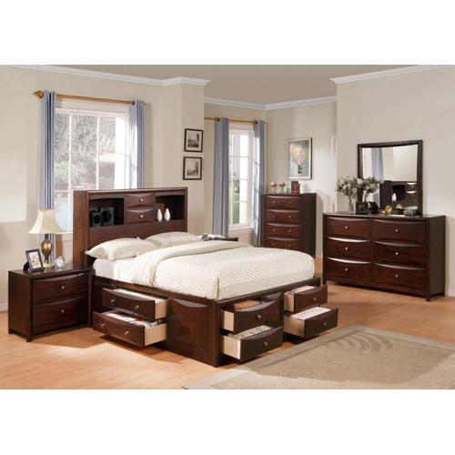 Acme Furniture Inc - Kit - Espresso Full Bed