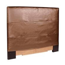 Twin Slipcovered Headboard Luxe Bronze