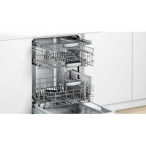 Dishwasher 24'' Stainless steel, XXL SHPM88Z75N