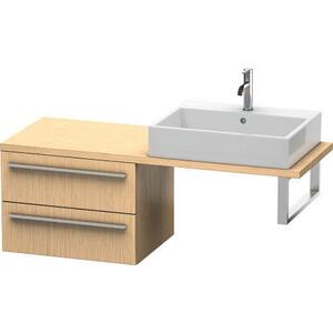Low Cabinet For Console Compact, Brushed Oak (real Wood Veneer)