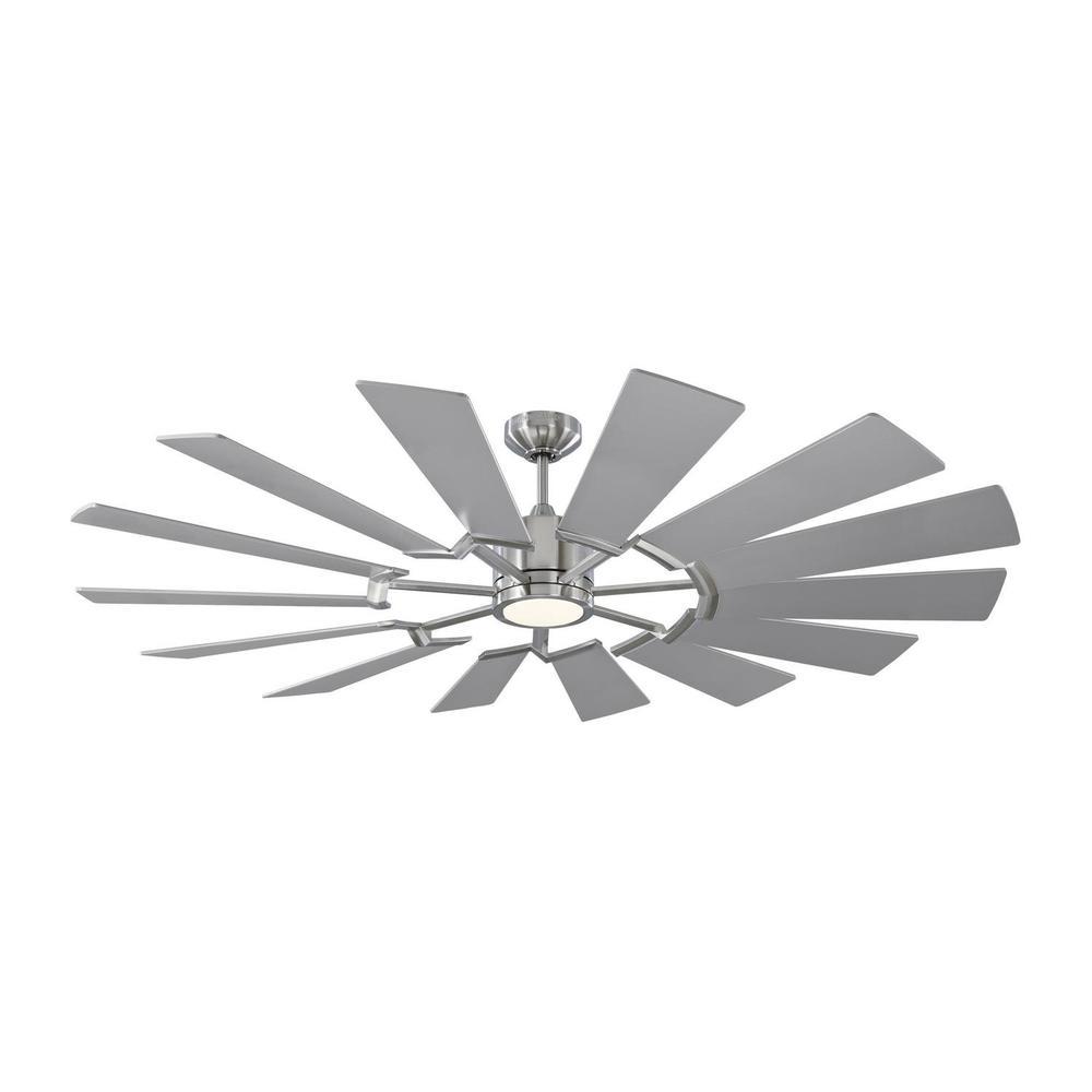 See Details - Prairie 62 LED - Brushed Steel