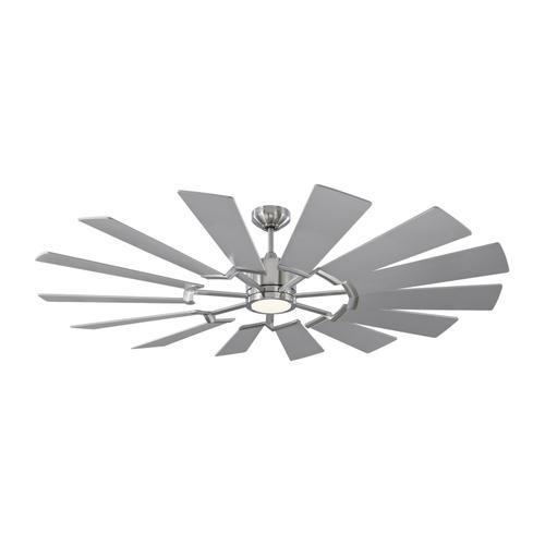 Monte Carlo Fans - Prairie 62 LED - Brushed Steel