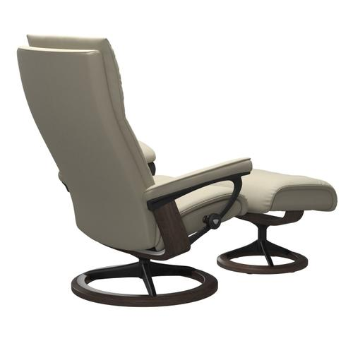 Stressless By Ekornes - Stressless® Aura (S) Signature chair with footstool