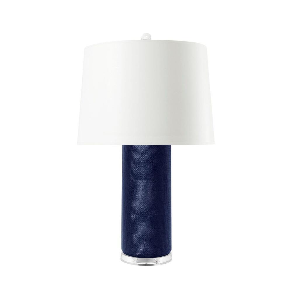Cleo Lamp, Navy Blue