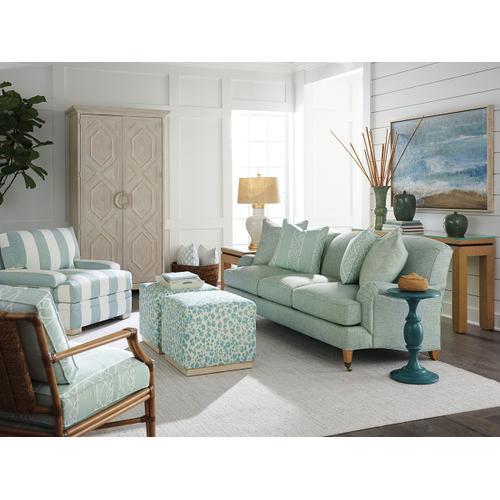 Sydney Sofa With Brass Caster Sydney Sofa With Brass Caster