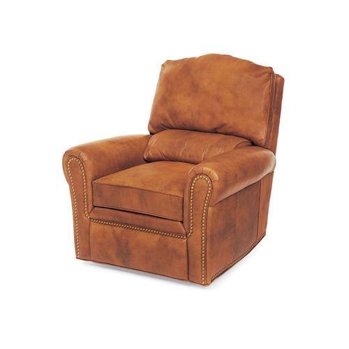 Hancock and Moore - 3724-PRB CODY SWIVEL GLIDER POWER WALL-HUGGER WITH BATTERY