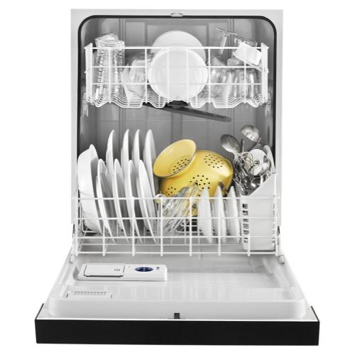 Whirlpool - Heavy-Duty Dishwasher with 1-Hour Wash Cycle