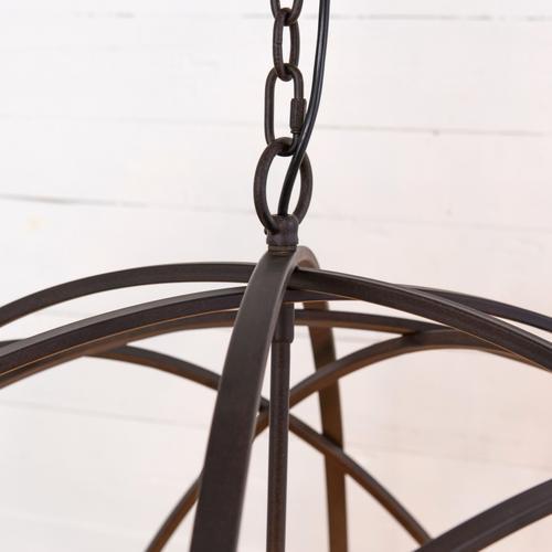 Tennyson Large Chandelier-rust