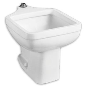 American Standard - Clinic Floor Mounted Service Sink - White