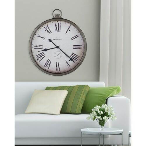 Howard Miller Gallery Pocket Watch Oversized Wall Clock 625572