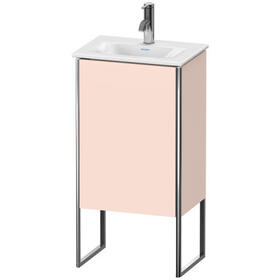 Vanity Unit Floorstanding, Apricot Pearl Satin Matte (lacquer)