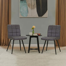Bradford Upholstered Dining Chair, Charcoal