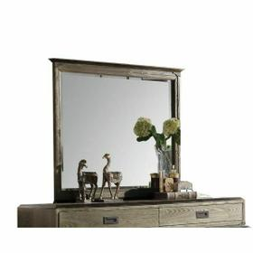 ACME Athouman Mirror - 23924 - Weathered Oak
