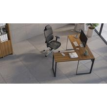 View Product - Linea 6224 Work Desk Return in Natural Walnut