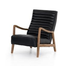 Dakota Black Cover Chance Chair
