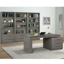 See Details - PURE MODERN 4pc Wall with Executive Desk