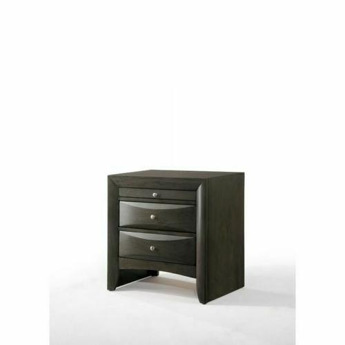 ACME Ireland Nightstand - 22704 - Gray Oak
