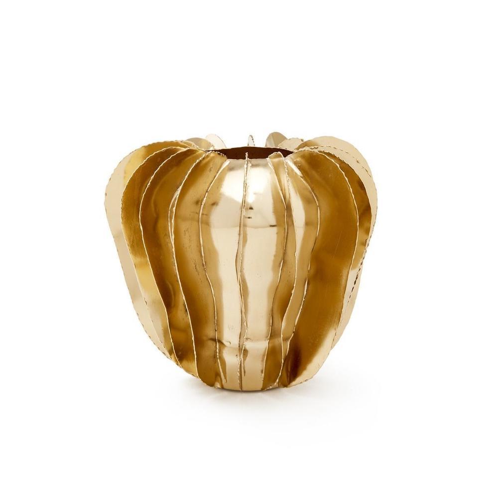 See Details - Doral Vase, Brass Finish