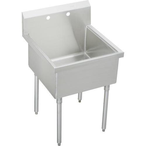 """Product Image - Elkay Sturdibilt Stainless Steel 33"""" x 27-1/2"""" x 14"""" Floor Mount, Single Compartment Scullery Sink"""