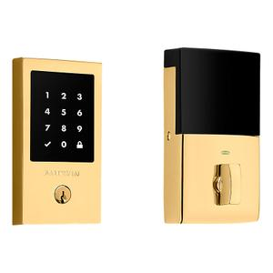 Lifetime Polished Brass Minneapolis Touchscreen Z-Wave Smart Electronic Deadbolt Product Image